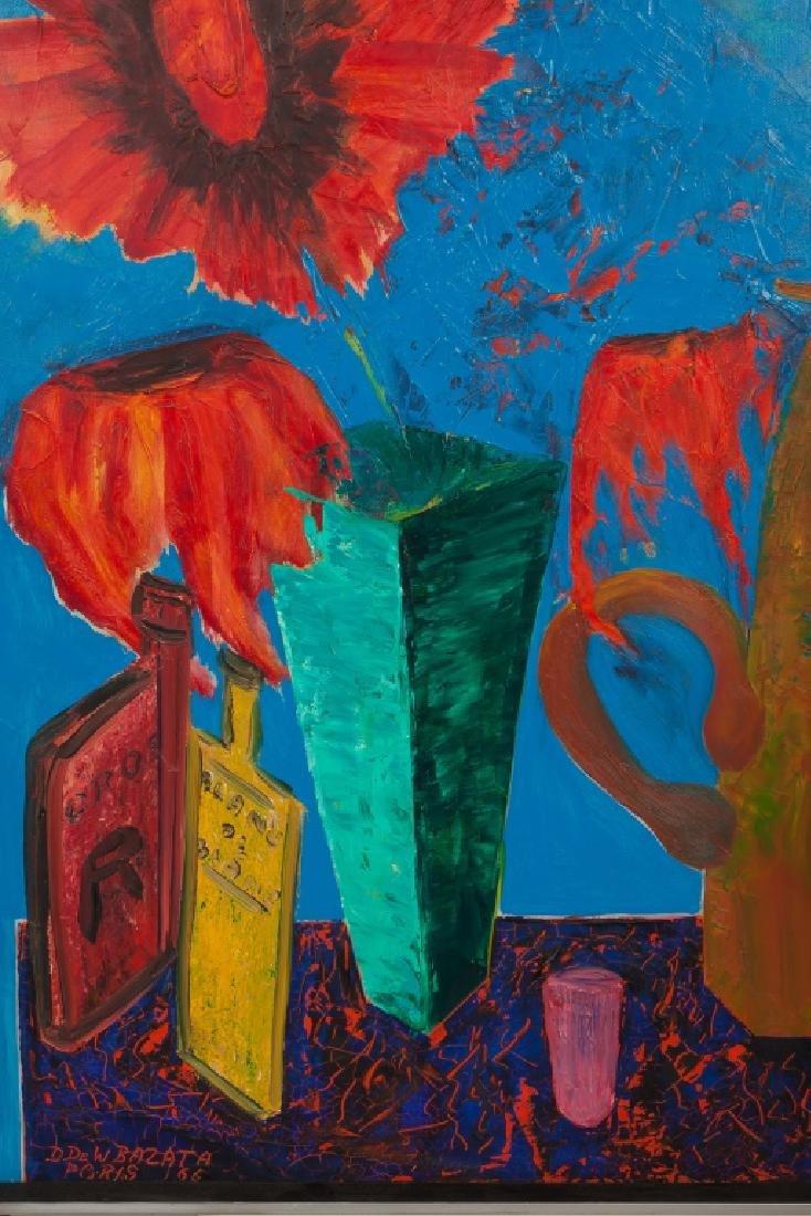 D. Dewitt Bazata (American, 1911-1999) Still Life - 2
