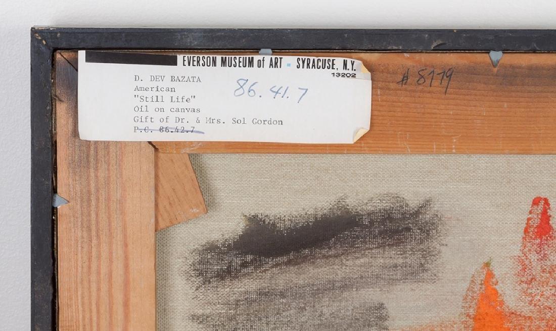 D. Dewitt Bazata (American, 1911-1999) Still Life - 4