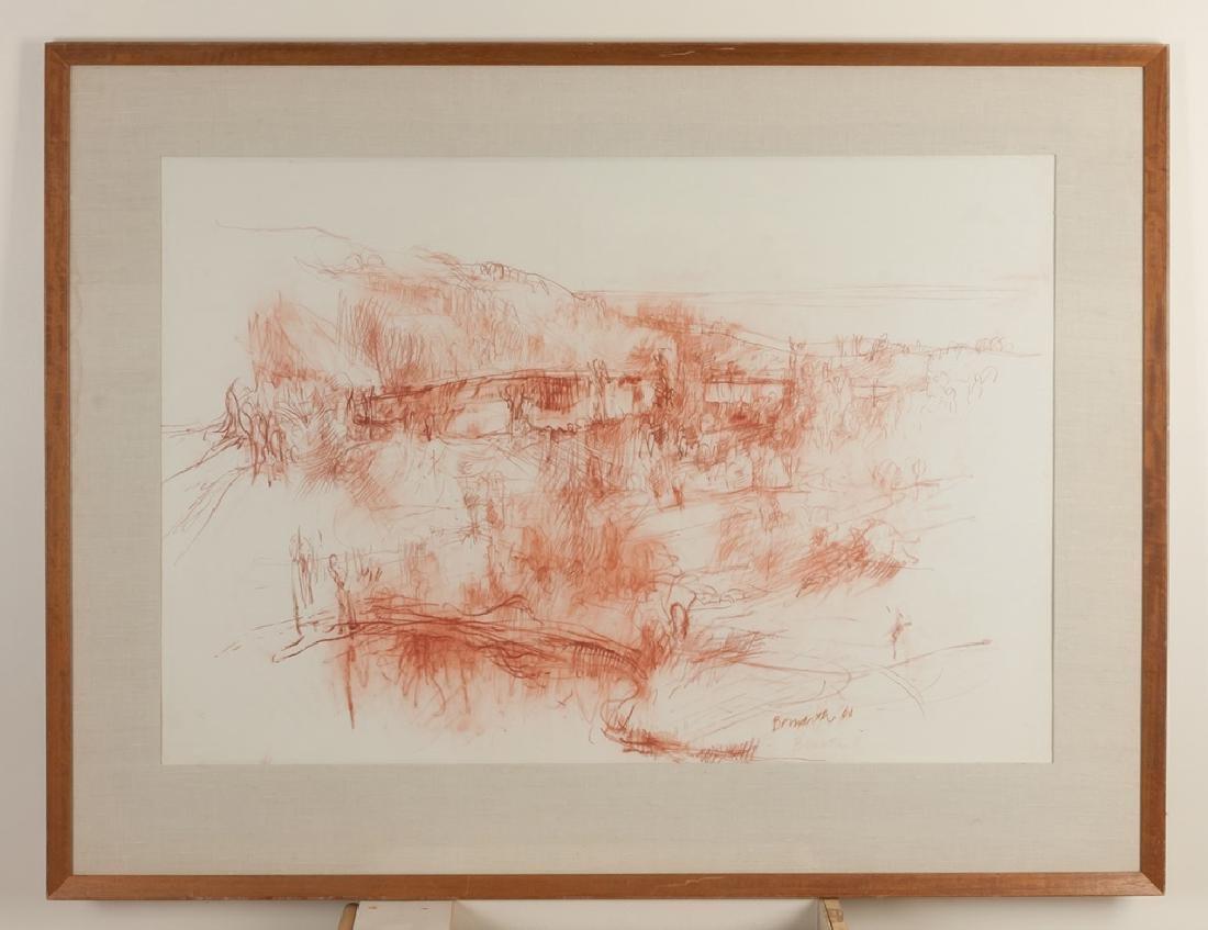 Philip Bornarth (American, born 1929) Landscape