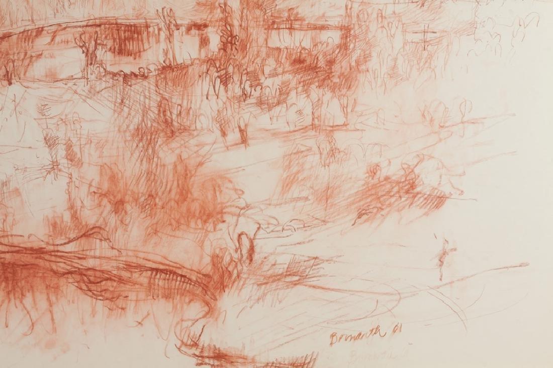 Philip Bornarth (American, born 1929) Landscape - 2