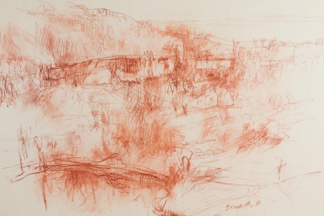 Philip Bornarth (American, born 1929) Landscape - 4