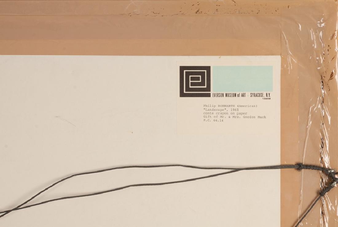 Philip Bornarth (American, born 1929) Landscape - 5
