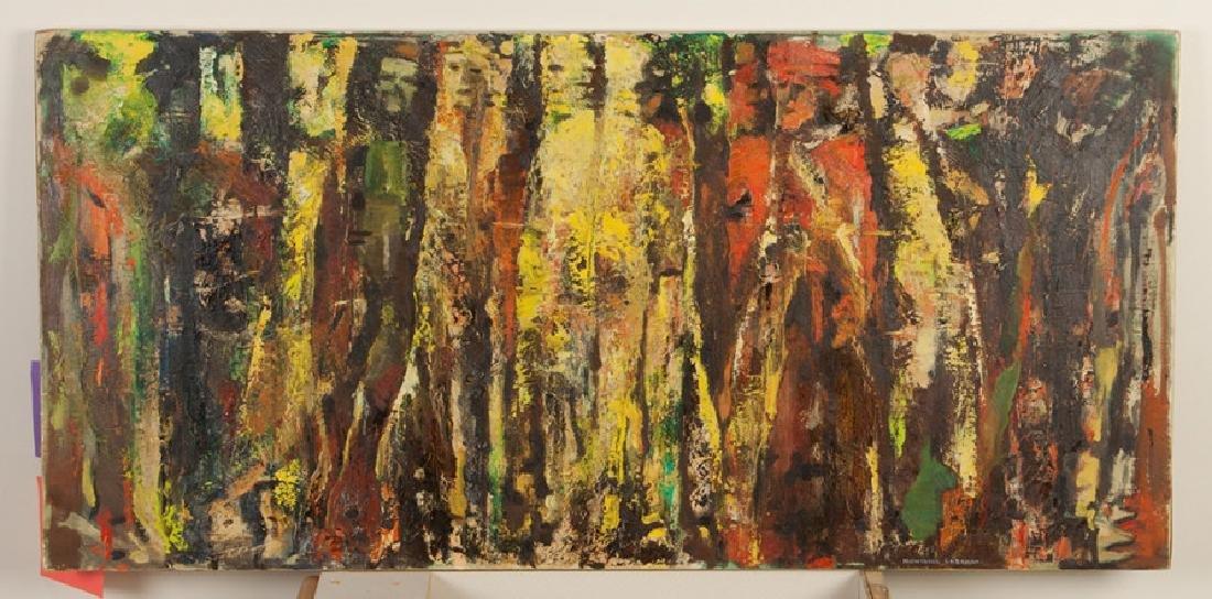 "Montague Charman (American, 1894-1986) ""Dakota  Cliffs"""