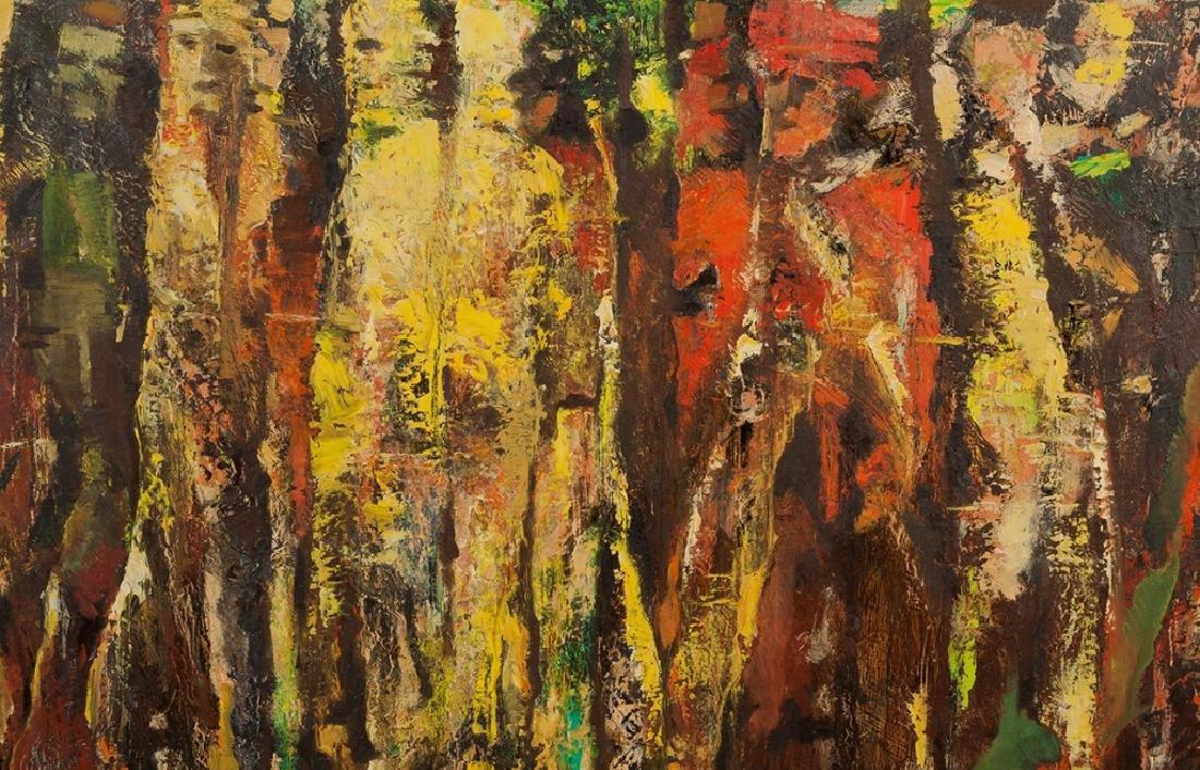 "Montague Charman (American, 1894-1986) ""Dakota  Cliffs"" - 2"