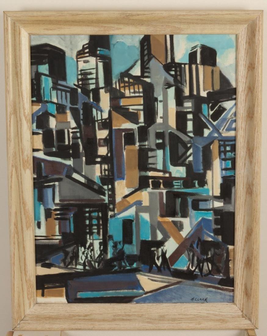 Horace Clark (American, 1910-1995) Near Fulton  Street,