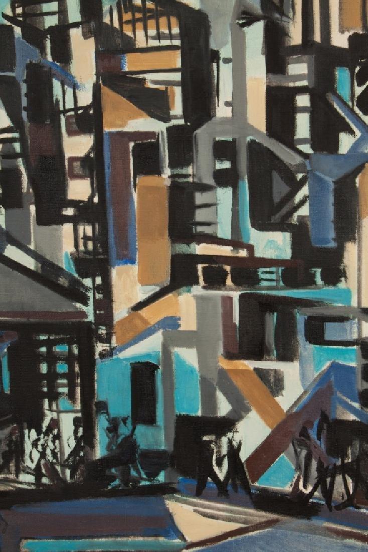 Horace Clark (American, 1910-1995) Near Fulton  Street, - 3