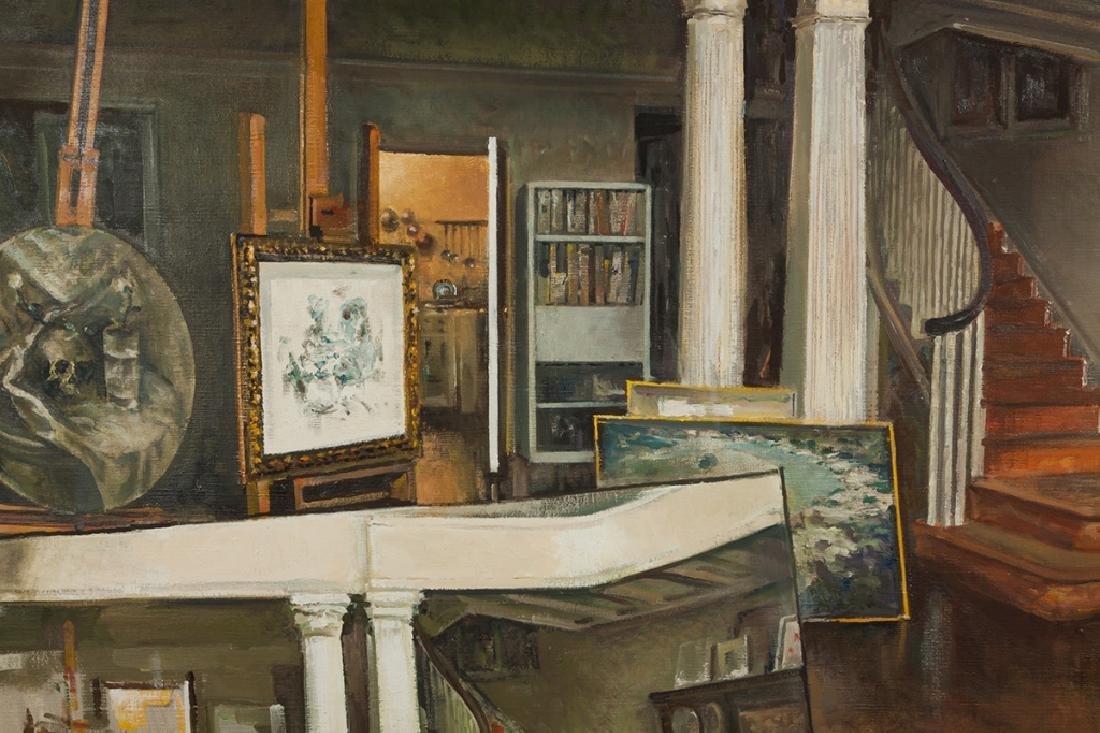 """Xavier Gonzalez (American, 1898-1993) """"Studio"""" - 2"""