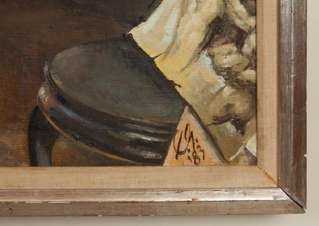 """Xavier Gonzalez (American, 1898-1993) """"Studio"""" - 3"""