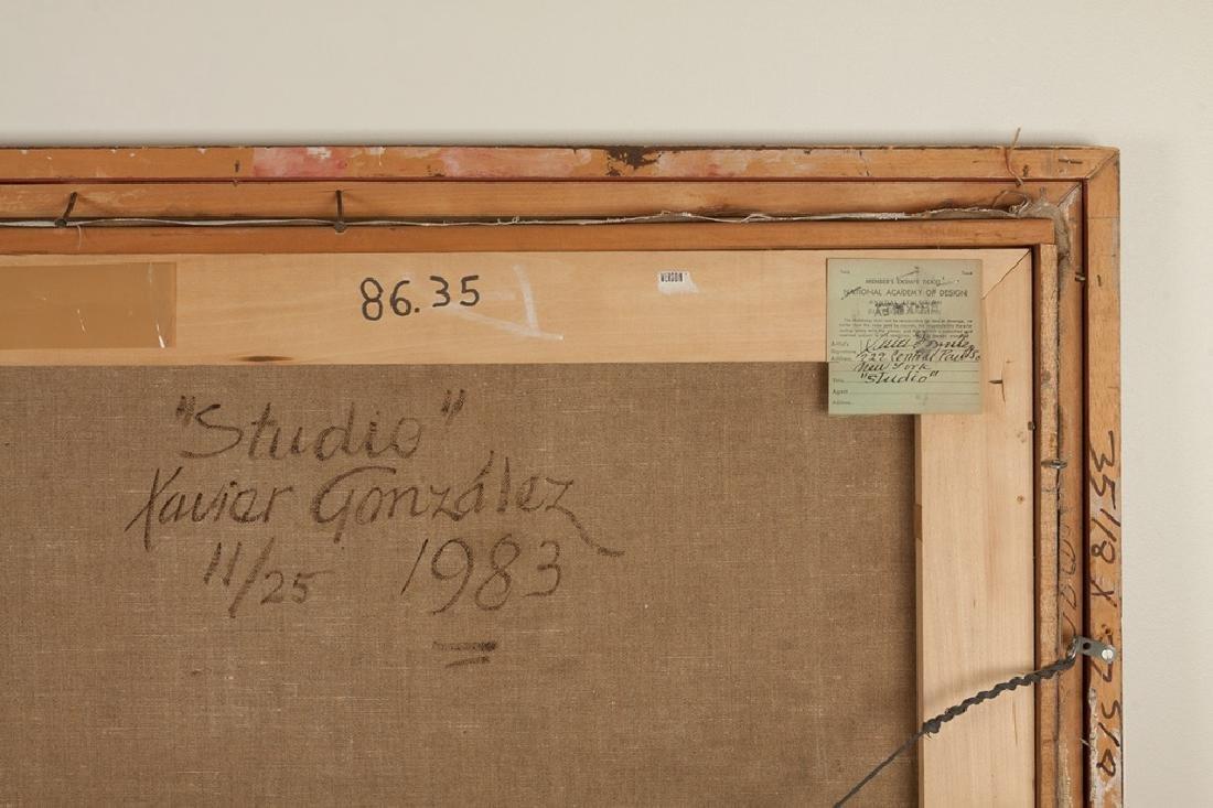 """Xavier Gonzalez (American, 1898-1993) """"Studio"""" - 5"""