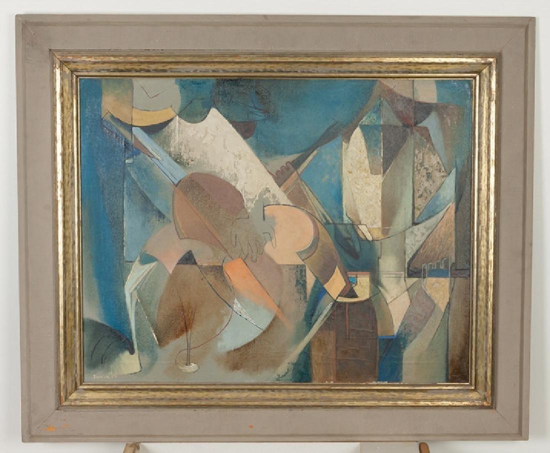 "Frank W. Kent (American, 1912-1977) ""Los Musico"""