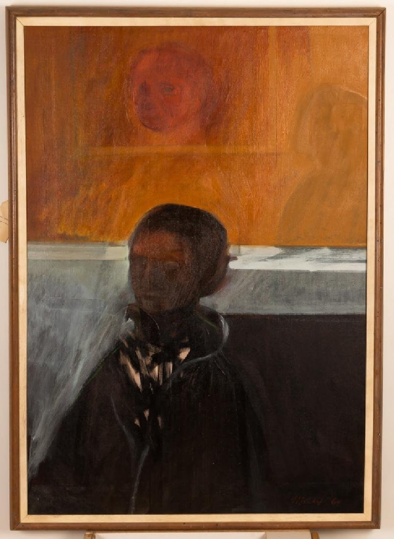 "Robert E. Marx (German, born 1925) ""Woman in Black"