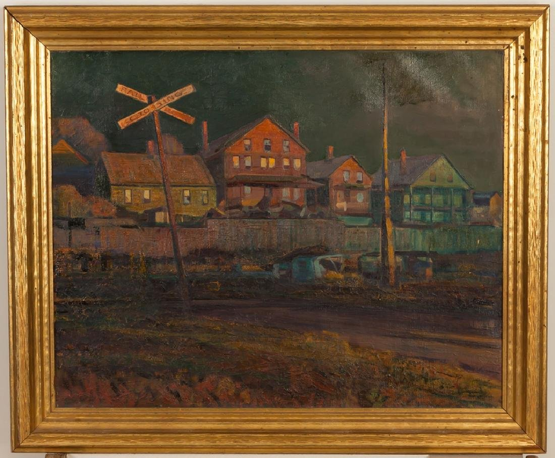 "Justus F. Mueller (American, 1902-1993) ""Railroad"
