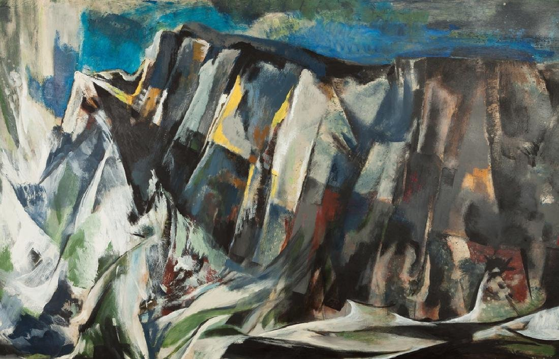 "Merlin Pollock (American, 1905-1995) ""Restless  Sea"" - 3"