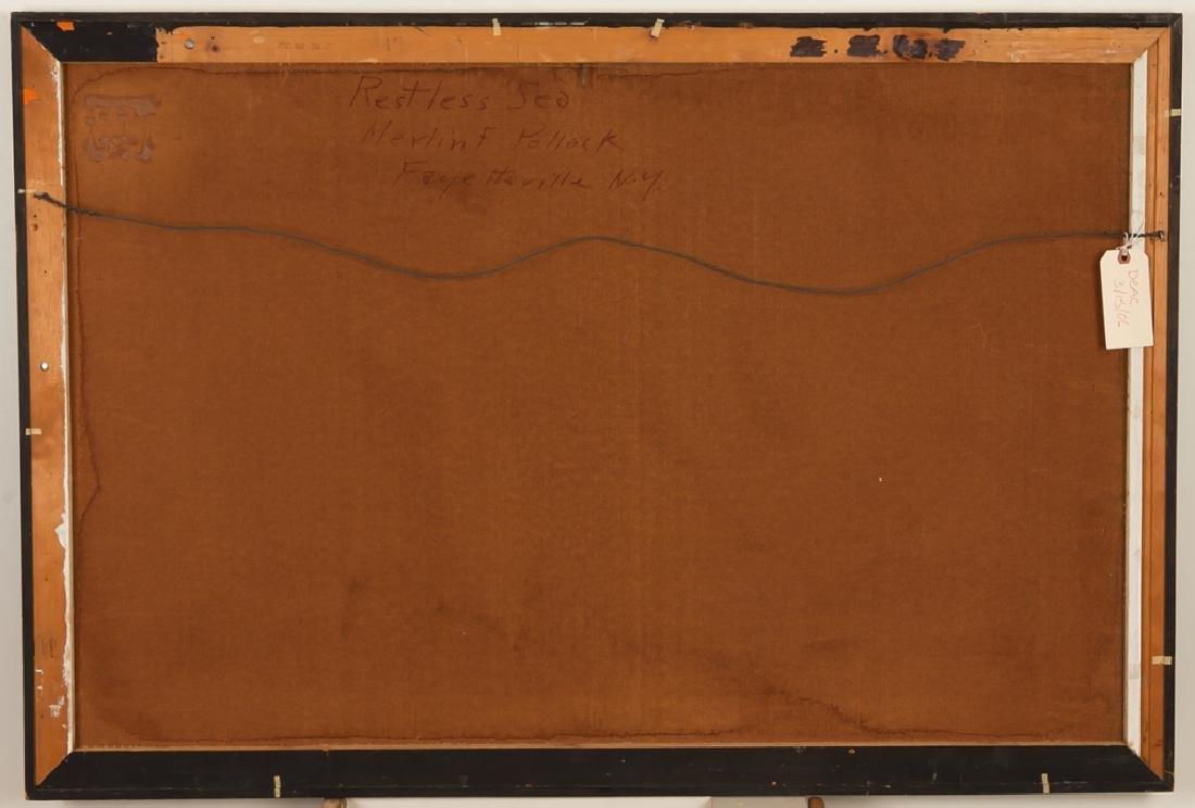"Merlin Pollock (American, 1905-1995) ""Restless  Sea"" - 4"