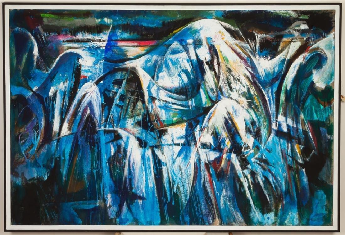 "Merlin Pollock (American, 1905-1995) ""The Wave"""