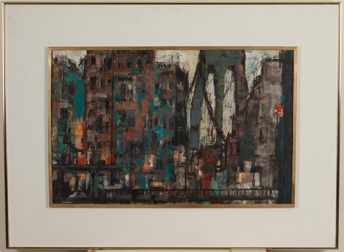 "Paul W. Tessler (born 1907) ""Chatham Square"""