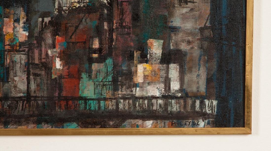 "Paul W. Tessler (born 1907) ""Chatham Square"" - 2"