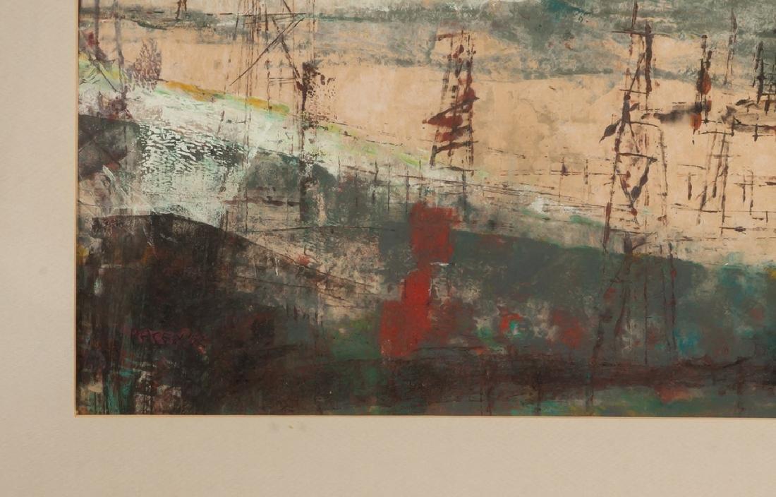 """Paul W. Tessler (born 1907) """"Caracas"""" - 2"""