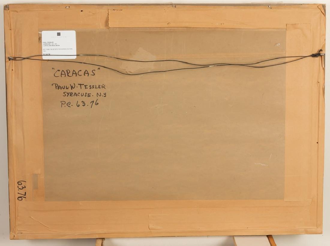 """Paul W. Tessler (born 1907) """"Caracas"""" - 3"""
