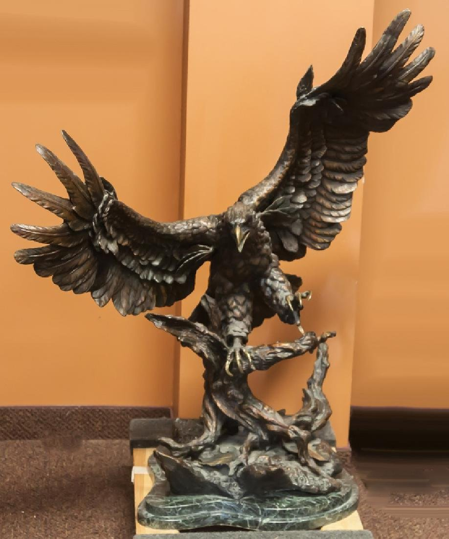 Monumental Bronze Eagle