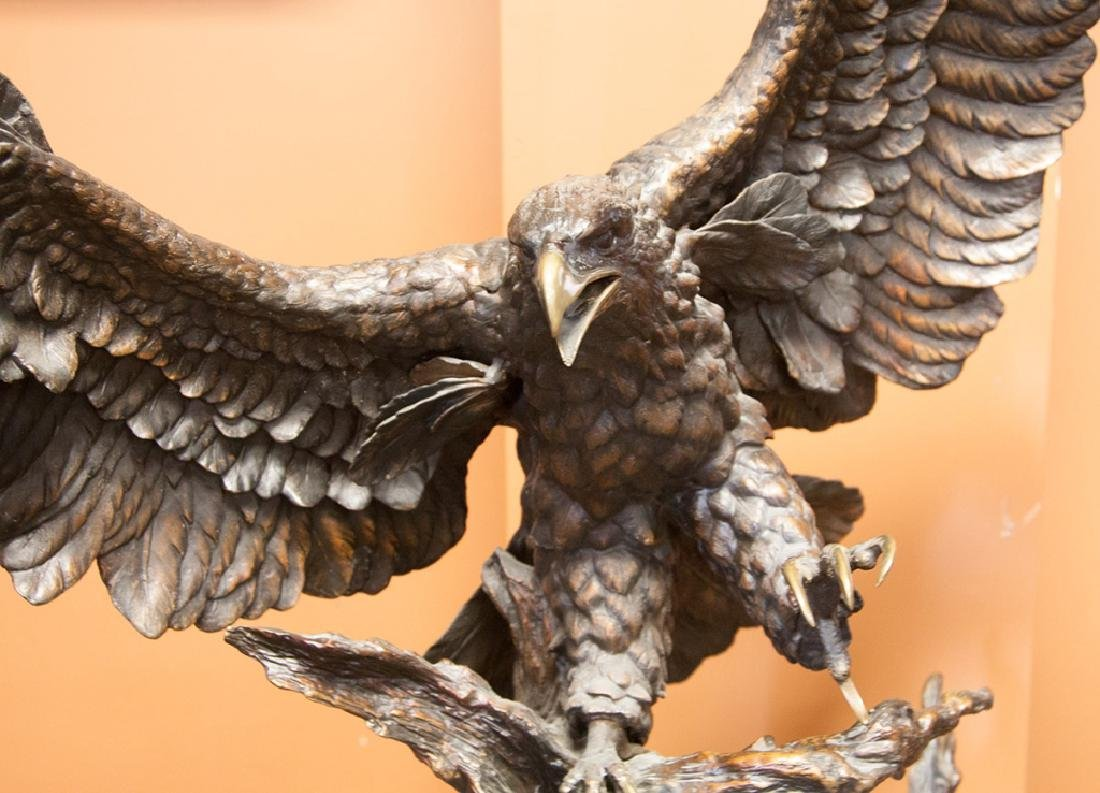 Monumental Bronze Eagle - 2
