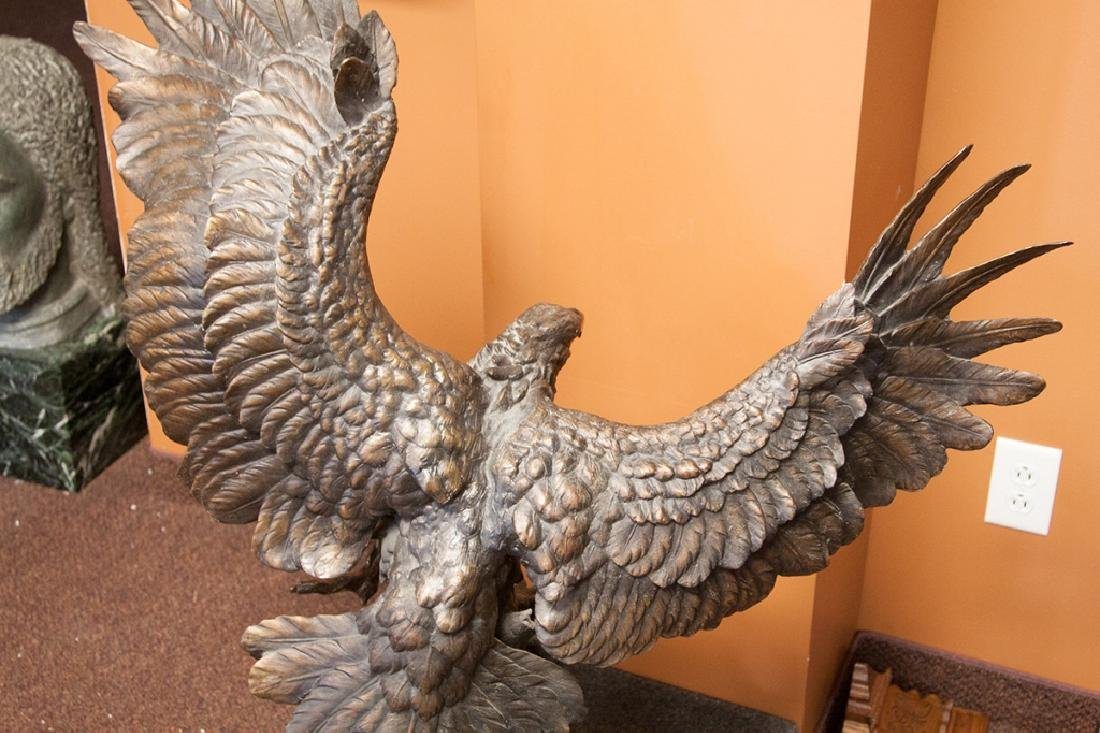 Monumental Bronze Eagle - 3