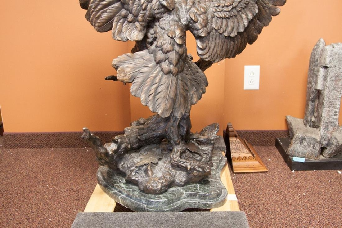 Monumental Bronze Eagle - 4