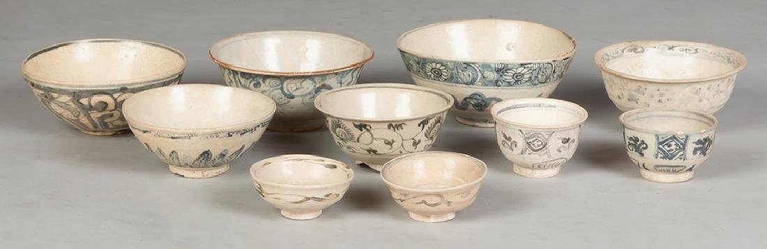 Group of Early Asian Pottery