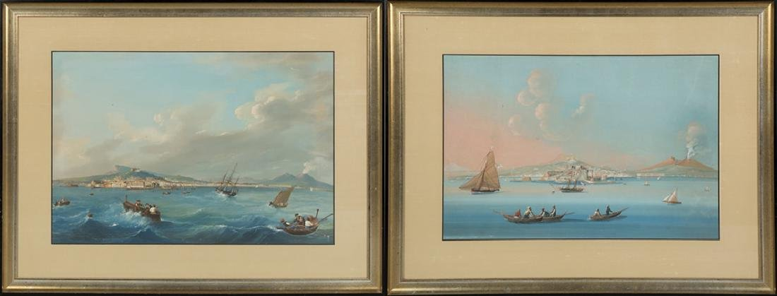 Two Italian Harbor Scenes