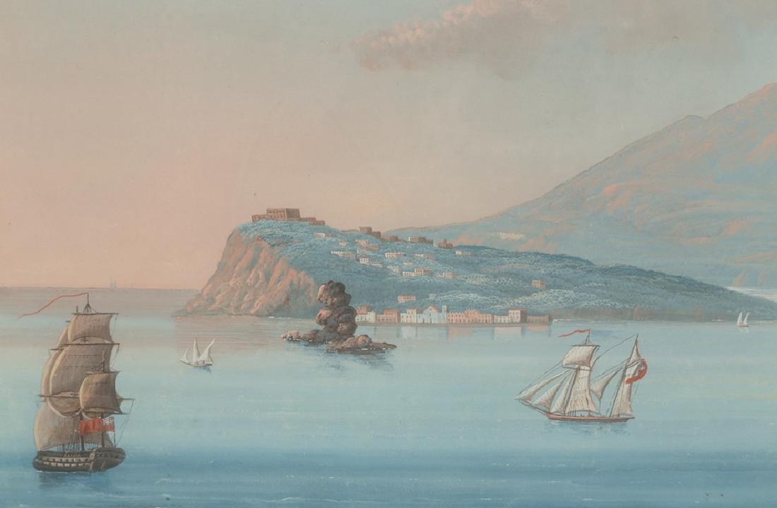 Two Italian Harbor Scene - 3
