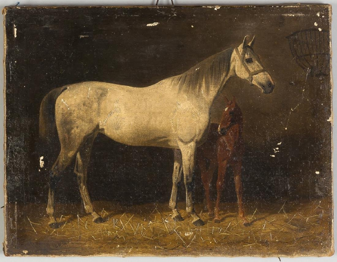 Painting of Horses