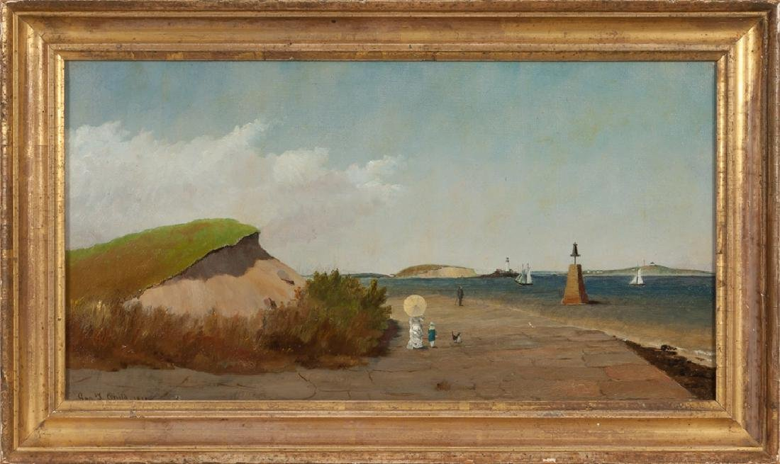 """George F. Child (American, 19th Century) """"View  from"""