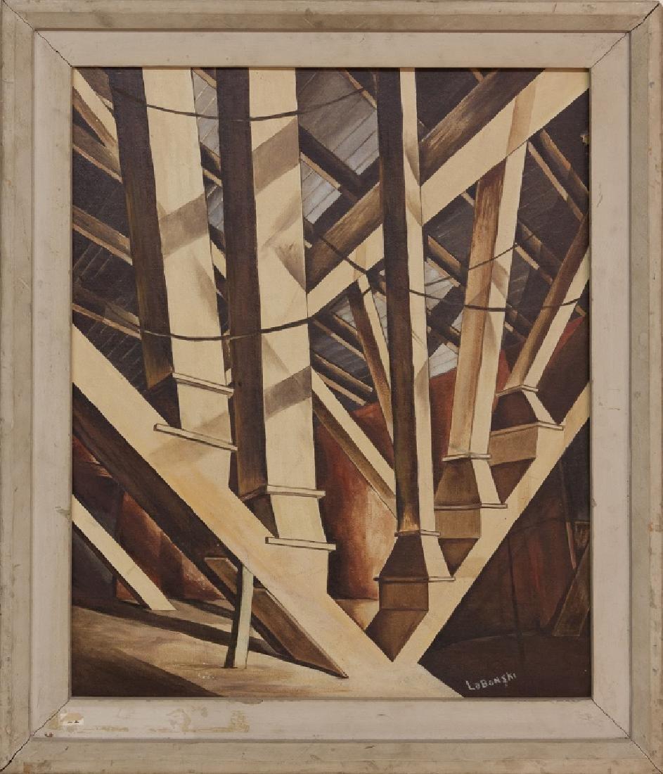 Michael Labonski (American) Abstract Construction