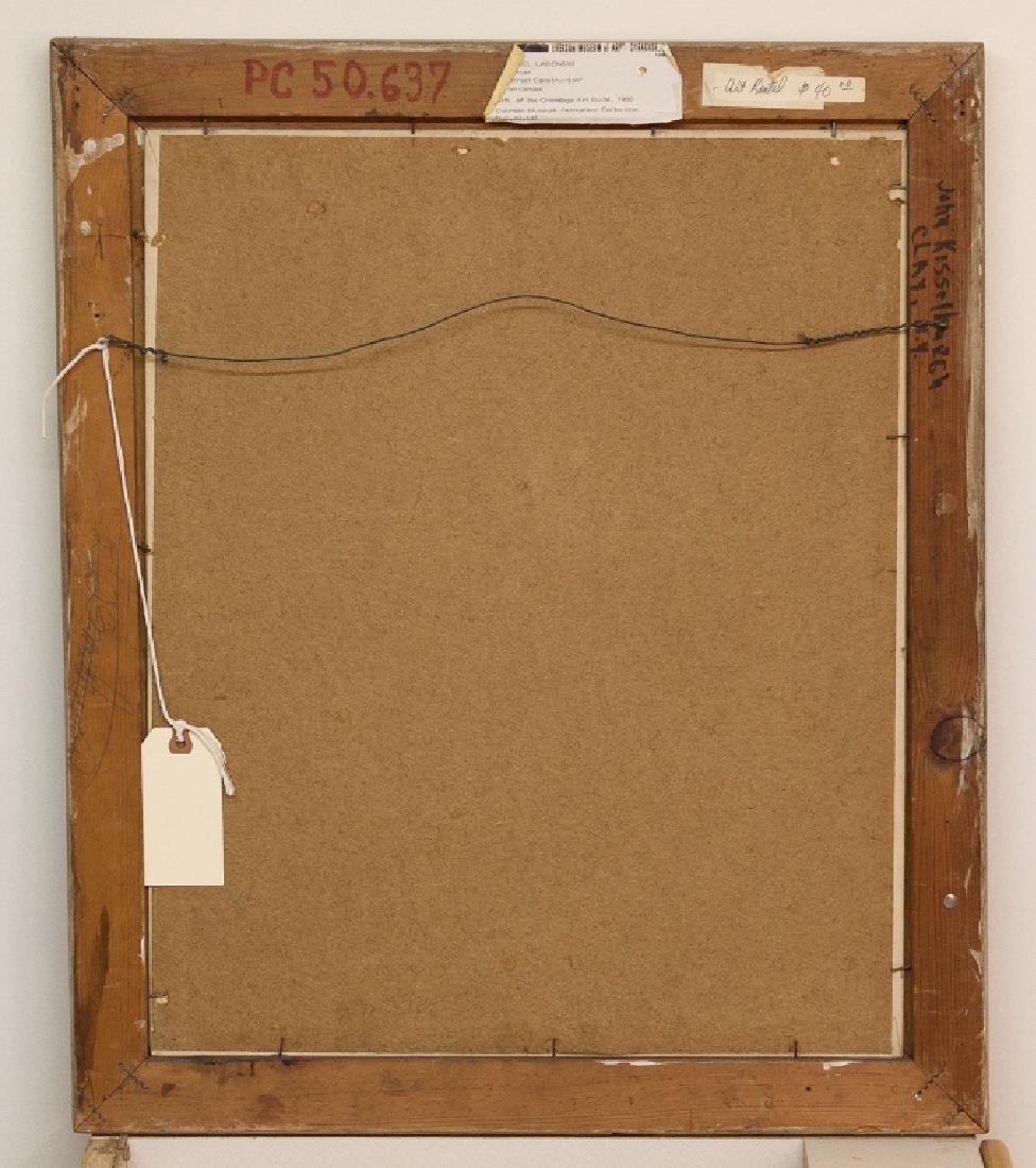 Michael Labonski (American) Abstract Construction - 2