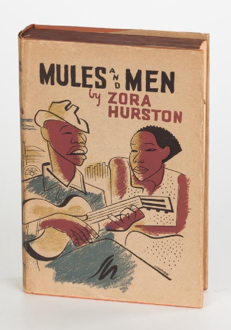 """""""Mules & Men"""" by Zora Neale Hurston, Illustrations  by"""