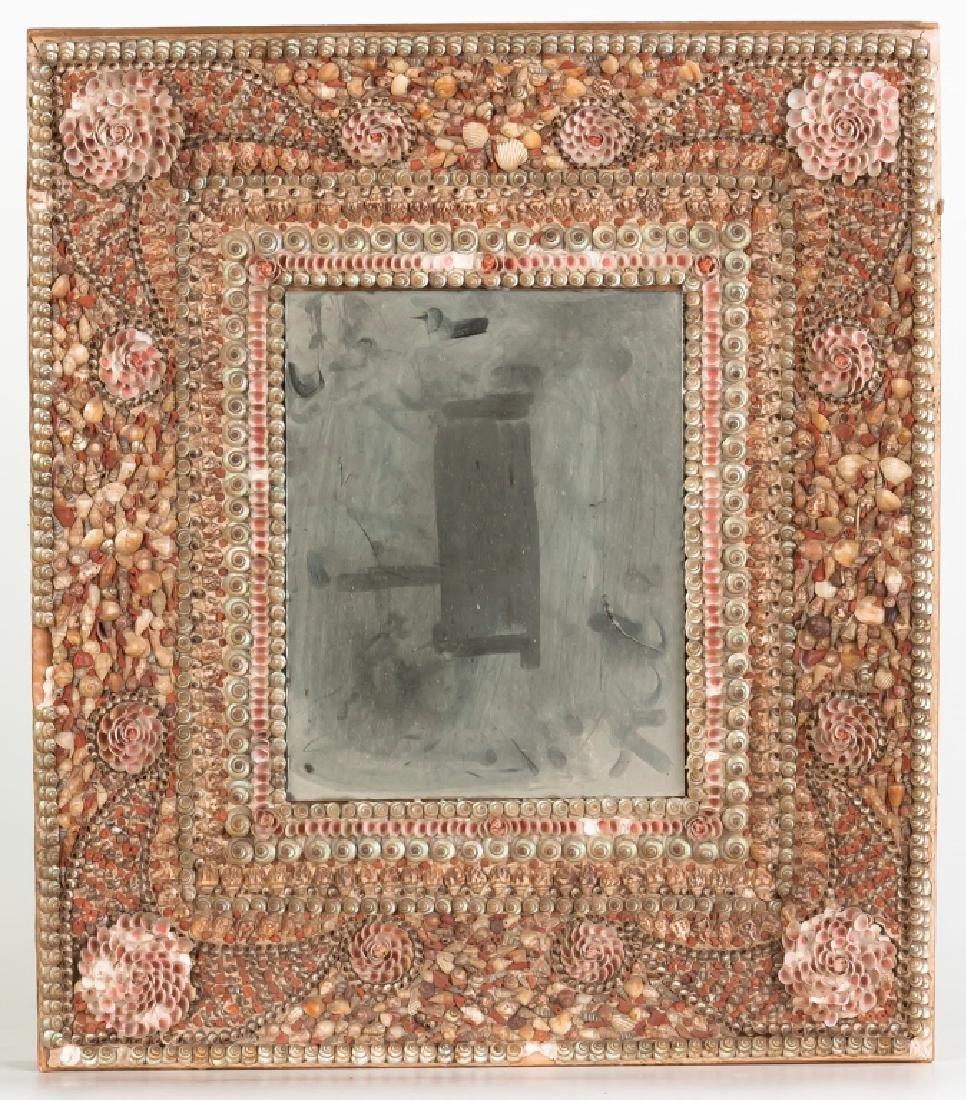 Victorian Sea Shell Mirror