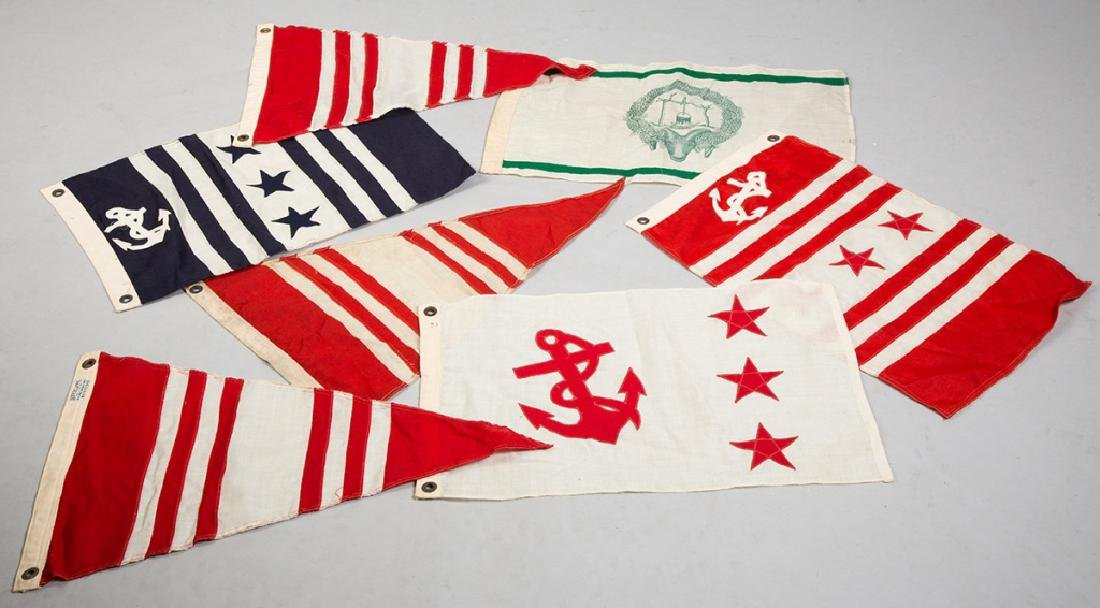 7 Vintage Sailing Flags - 2