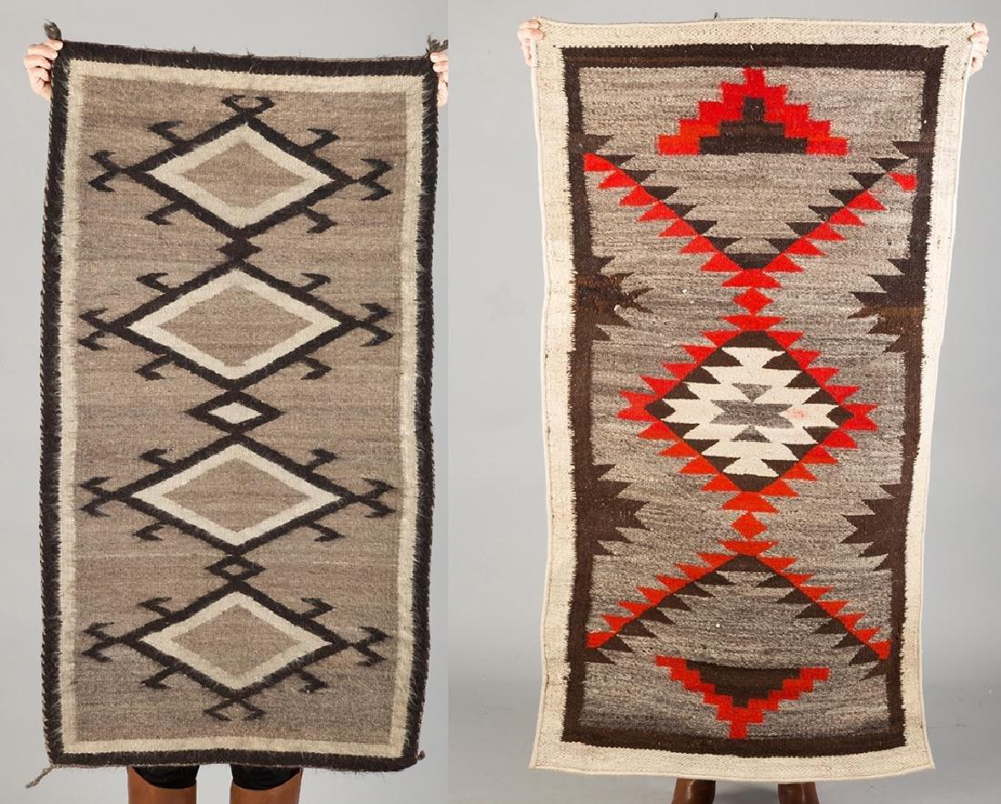 2 Vintage Navajo Weavings