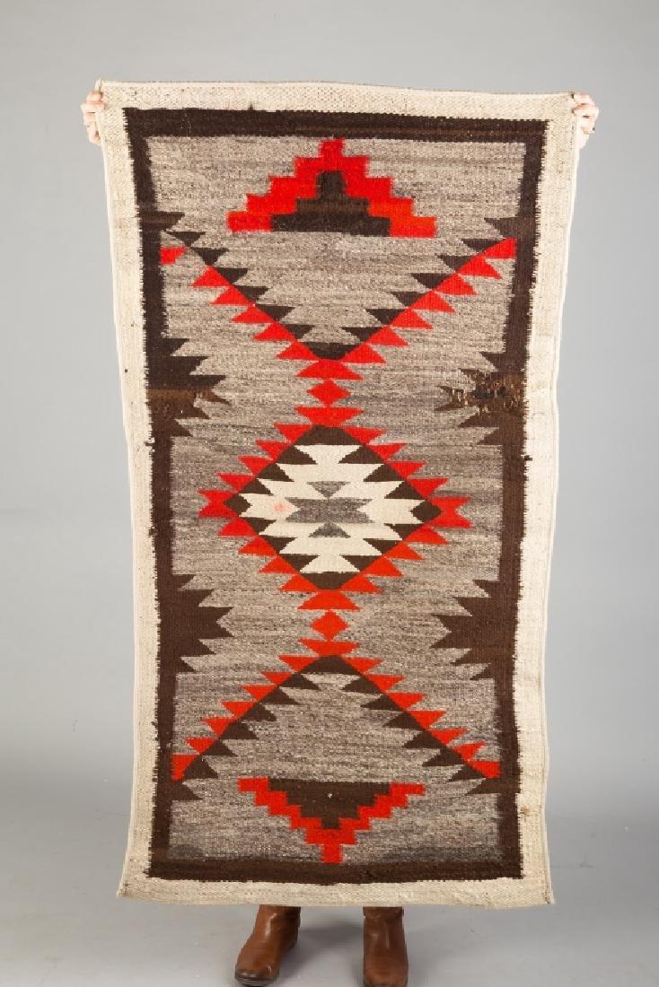 2 Vintage Navajo Weavings - 2