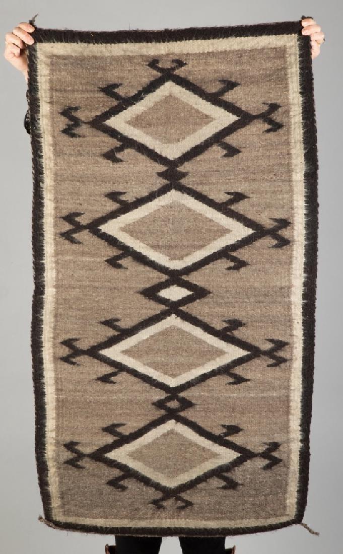2 Vintage Navajo Weavings - 3
