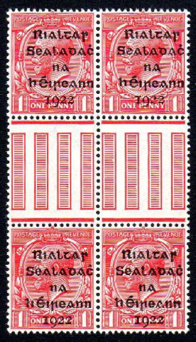 Dollard: 1d gutter block of 4