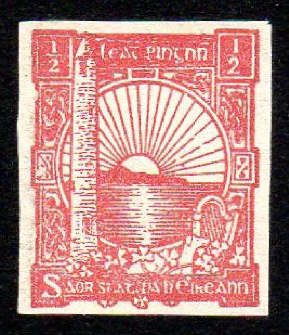 O'Loughlin, Murphy & Boland: imperf. ½d red