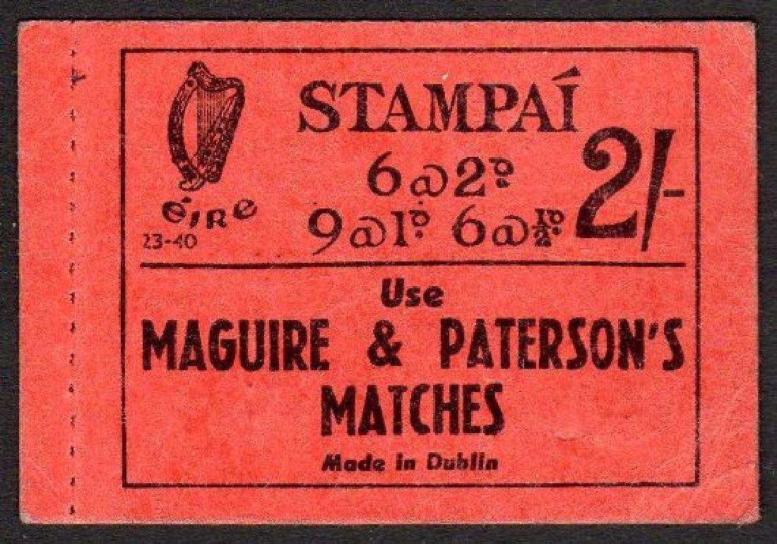 Booklet: 1940 2/- no. 23-40