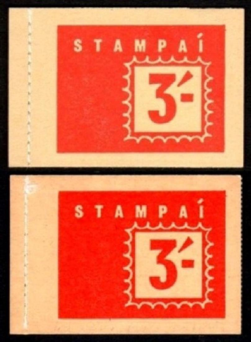 Booklet: 1964 3/-, two diff. Covers