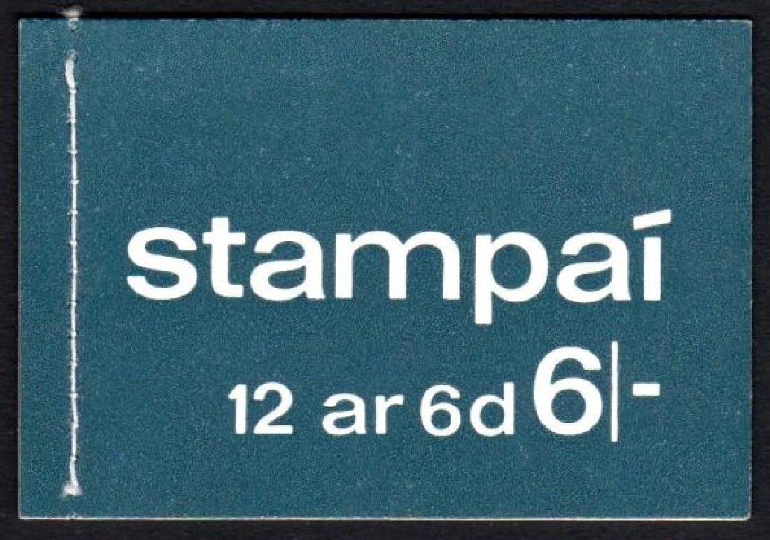 Booklet: 1970 6/- blue (panes PVA gum)