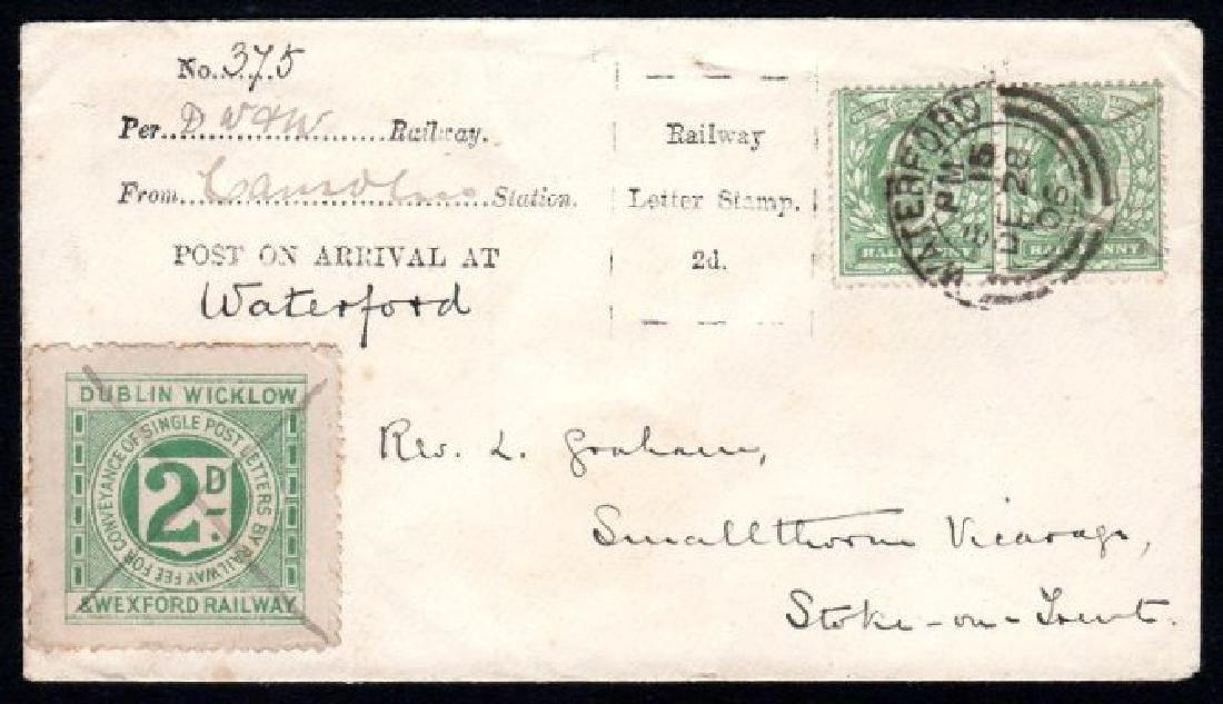 Railway: Dublin, Wicklow & Wexford, 1905 3rd printing