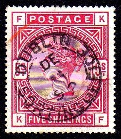 IRELAND-ONLY Rare Stamps & Postal History Prices - 545