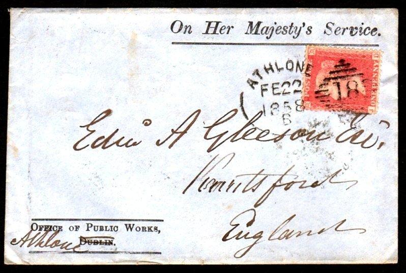 19: G.B. used in Ireland