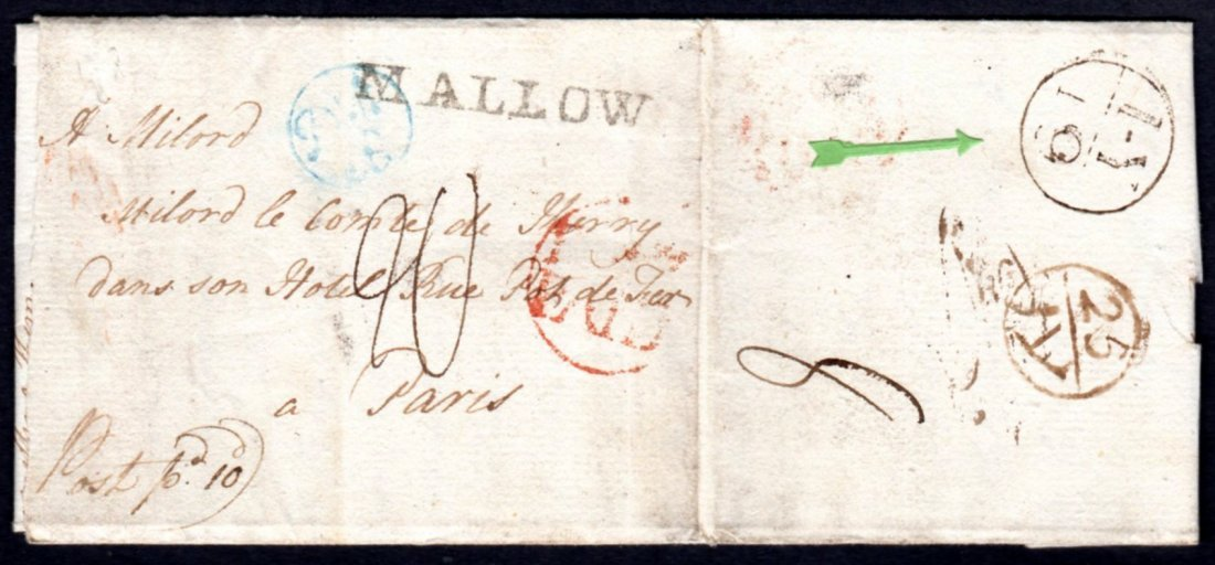 1782 Entire Letter from Mallow