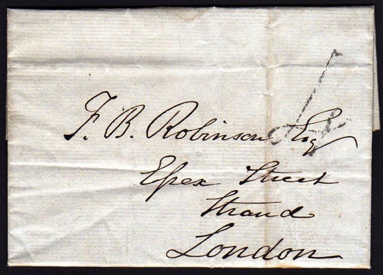 1839 Uniform Fourpenny Post